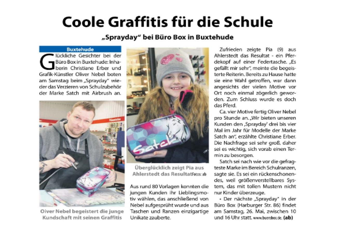 Neues Und Aktuelles Von Der Buro Box In Buxtehude Buro Box